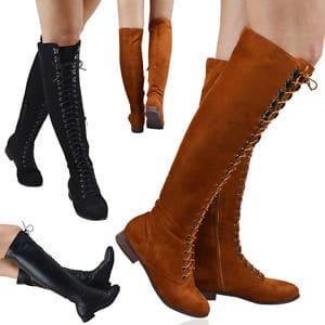 bottes-lacets-tendance-femme