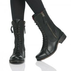 design-bottes-lacets-femme