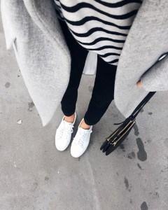 mode-basket-blanche-femme