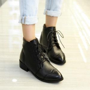 mode-boots-cuir-femme