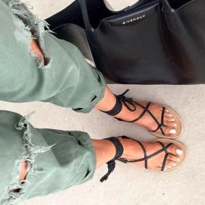 sandalesplates-tendances-femme