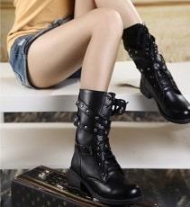 style-bottes-lacets-femme
