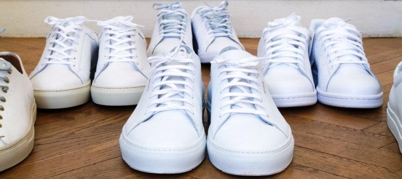 9ba2a436b4f6 Basket blanche pour homme   les meilleurs modèles