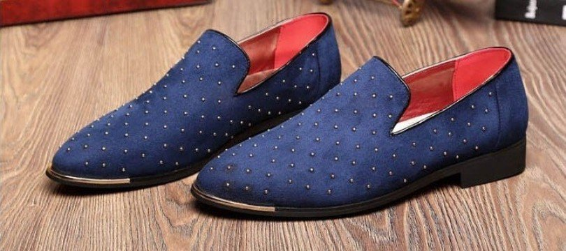 mocassin ouvert homme