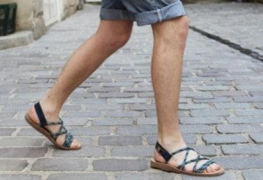 sandale-cuir-homme