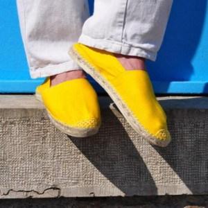 tendance-espadrilles-jaune-homme