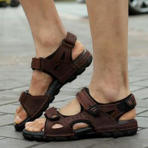tendance-sandale-cuir-homme