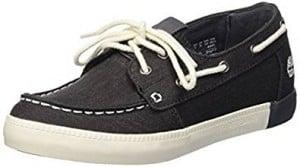 05c90f9f96d Les chaussures bateau noires pas chères s enfilent avec une ...
