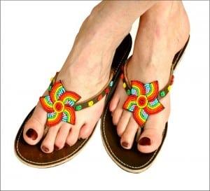 modele-sandale-colorees-pour-femme