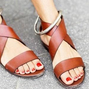 style-de-sandale-en-cuir-pour-femme