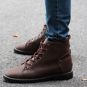 bottines boots cuir. Black Bedroom Furniture Sets. Home Design Ideas