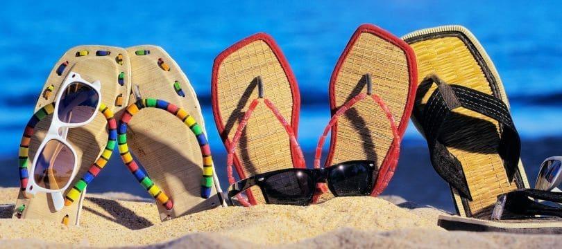tongs-et-sandales-femme-pour-la-plage