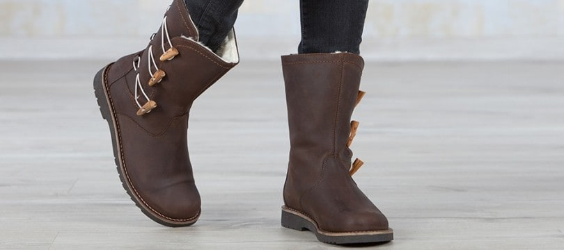 bottes originales femme cuir