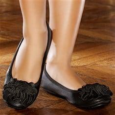 mode-ballerine-noire-pour-femme