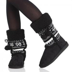 mode-botte-noire-femme