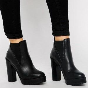 modeles-bottines-noires-femme