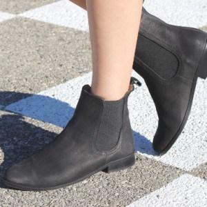 style-bottine-noire-femme