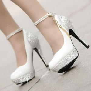 613780ec514c9 6 chaussures de mariage pour femme de qualité et pas chères | MA ...