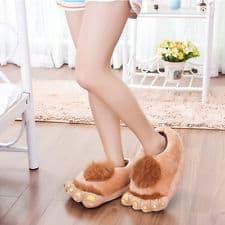 mode-pantoufle-fantaisie-femme